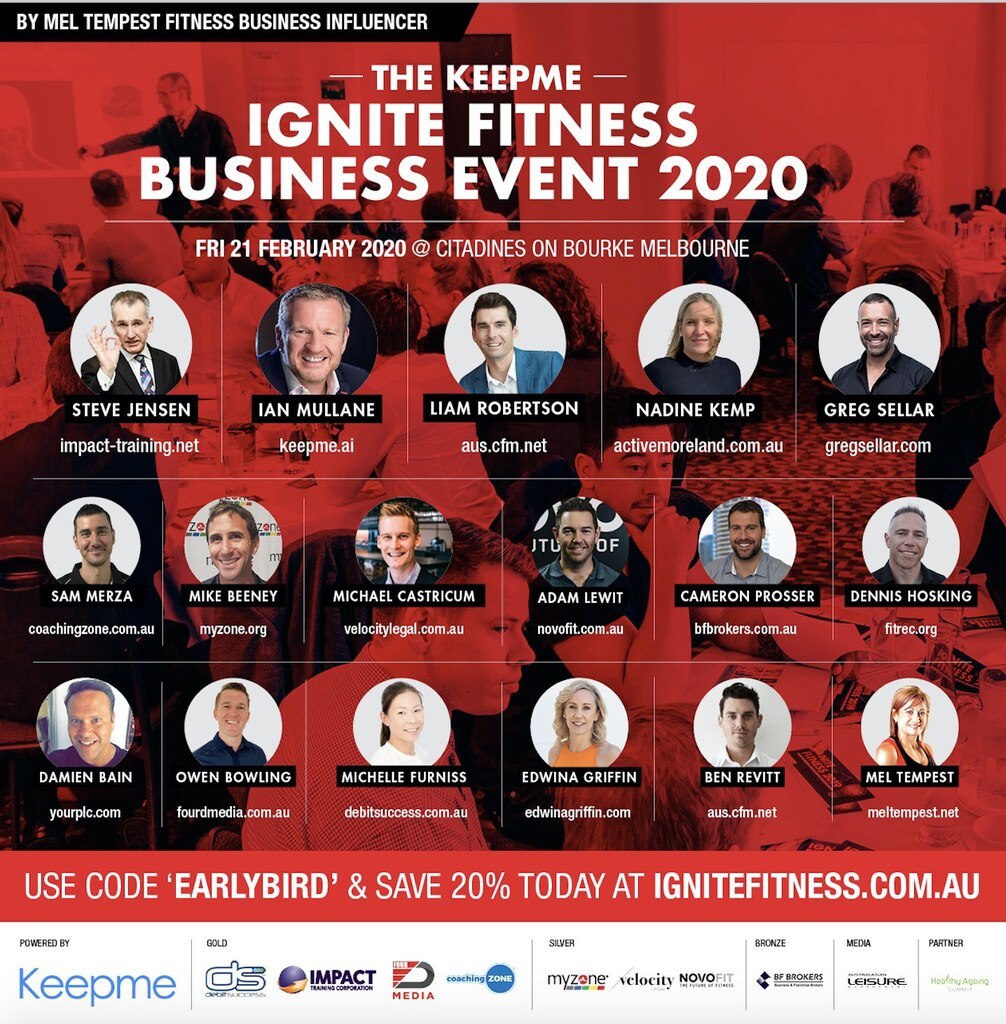 Melbourne Gym Owners Fitness Business Event Feb 21st Launches New Legal Fitness Business Panel