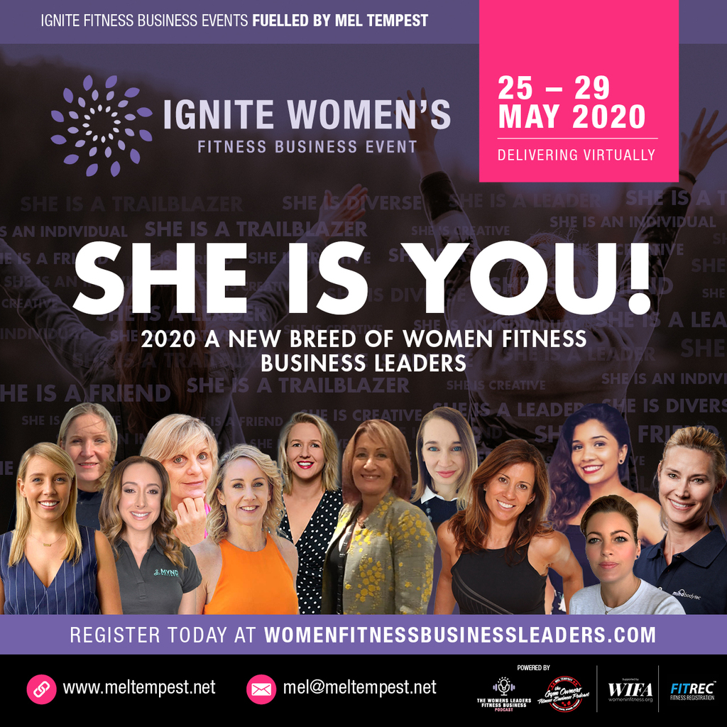 Fitness Business Women Leaders Unite